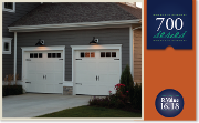 Carriage style garage doors insulated installed for Garage doors columbus oh